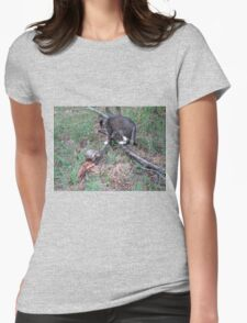 Mishu and a Wild Hermann's Tortoise Womens Fitted T-Shirt