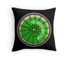 The Twisted Wheel Club Throw Pillow