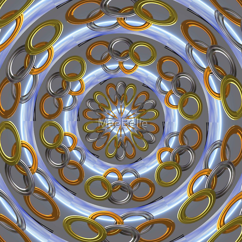 Olympic Rings Kaleidoscope by MaeBelle
