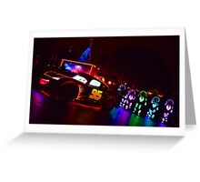 zooming the night away Greeting Card