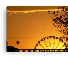 Melbourne sunrise Canvas Print