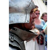 Focussed warrior Photographic Print