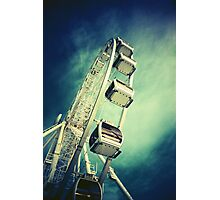 Big Wheel Photographic Print