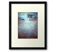 The Last Snowfall (February 24, 2010) Framed Print