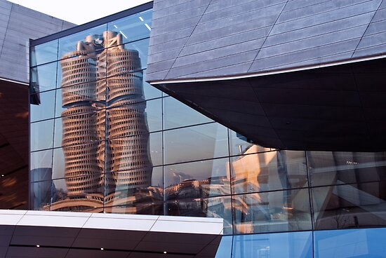 BMW Welt - Reflected Building by Kasia-D