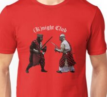 Medieval (K)night Club T-shirt design. Unisex T-Shirt