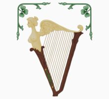 Celtic Harp by SpiceTree