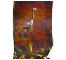My Next Impression: An Egret... Poster