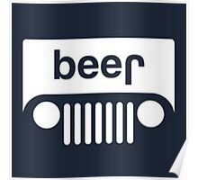 speed bump ahead,dont spill your beer! Poster