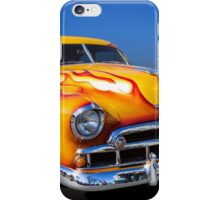 Flaming Chevy iPhone Case/Skin