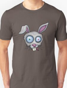 Crazy White Rabbit T-Shirt