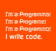 Teevolution :: I write code T-Shirt