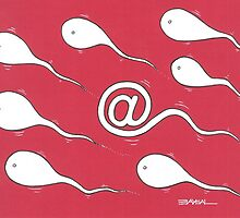 Electronic Sperm  by Ercan BAYSAL