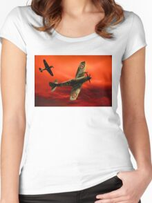 spitfire Women's Fitted Scoop T-Shirt