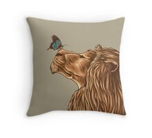 Gentle Man Throw Pillow