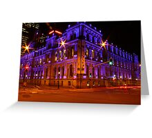 treasury casino Greeting Card