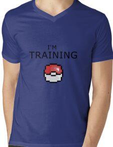 Pokemon Training Mens V-Neck T-Shirt