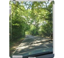 Countryside driving iPad Case/Skin