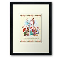 Do You Want to Build a Baymax? Framed Print