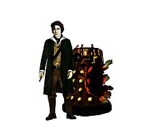 The War Doctor and Dalek Photographic Print