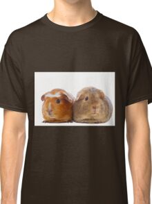 Two adorable guinea pigs Classic T-Shirt