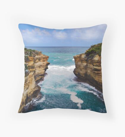 Cape Schanck Headlands Throw Pillow
