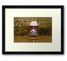 BEER IV Framed Print