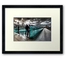 Millenium Bridge re-visited Framed Print