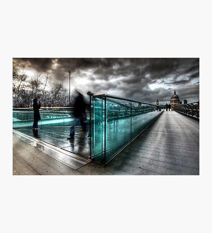 Millenium Bridge re-visited Photographic Print