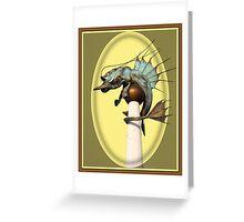 Prawn Tastic:  Greeting Card