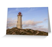 Louisbourg Lighthouse  Greeting Card