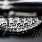 la machine à écrire by Michel Raj