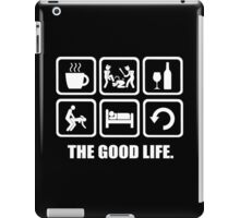 Coffee Policing Wine Sex Sleep Repeat The Good Life iPad Case/Skin