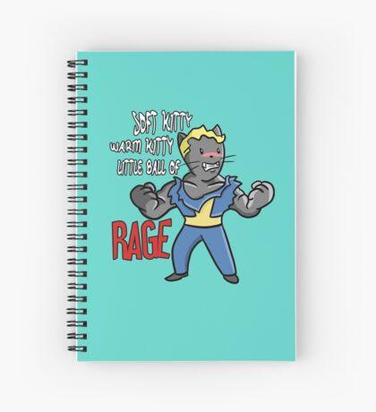 Vault Kitty Spiral Notebook