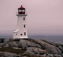 Peggy's Cove Lighthouse  by Marie  Cardona