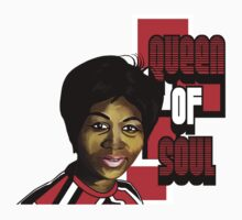 Queen Of Soul - Aretha Franklin  Kids Clothes
