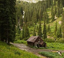 Mountain Cabin by Jay Stockhaus