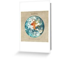Third Planet Greeting Card
