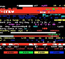 Glitched Teletext Page by ernstc