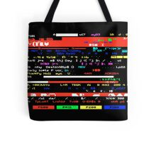 Glitched Teletext Page Tote Bag
