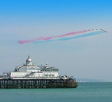 Red Arrows Eastbourne by Colin J Williams Photography