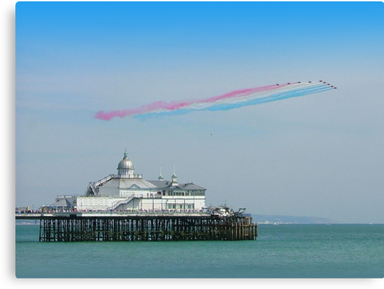 Red Arrows Eastbourne by Colin  Williams Photography