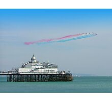 Red Arrows Eastbourne Photographic Print