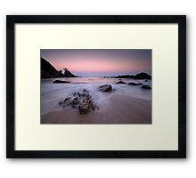 Onemana Scenic Reserve Framed Print