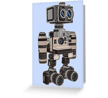 Camera Bot 6000 Greeting Card