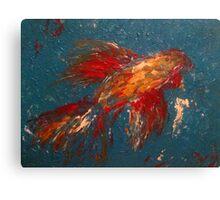 Fish Finger Canvas Print