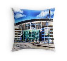 The Etihad Stadium Throw Pillow