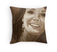 Bonnie In Pencil Throw Pillow