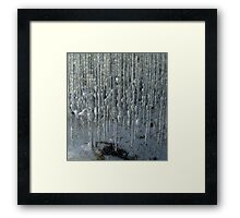 Ice cage Framed Print