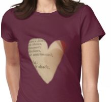 Love Shakespeare Womens Fitted T-Shirt